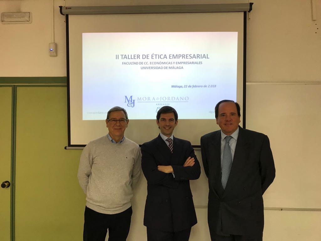Taller-etica-empresarial II TALLER DE ETICA EMPRESARIAL